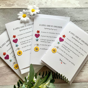 Little Card Of Loveliness Pack of Four Cards