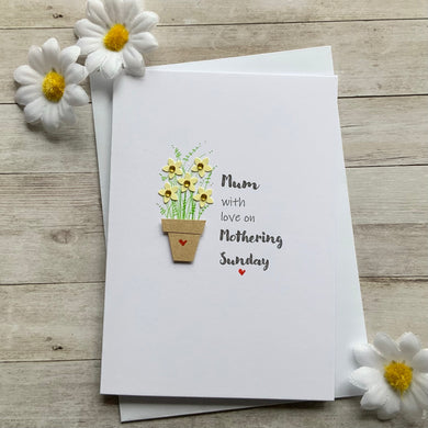 Mum With Love on Mothering Sunday Card