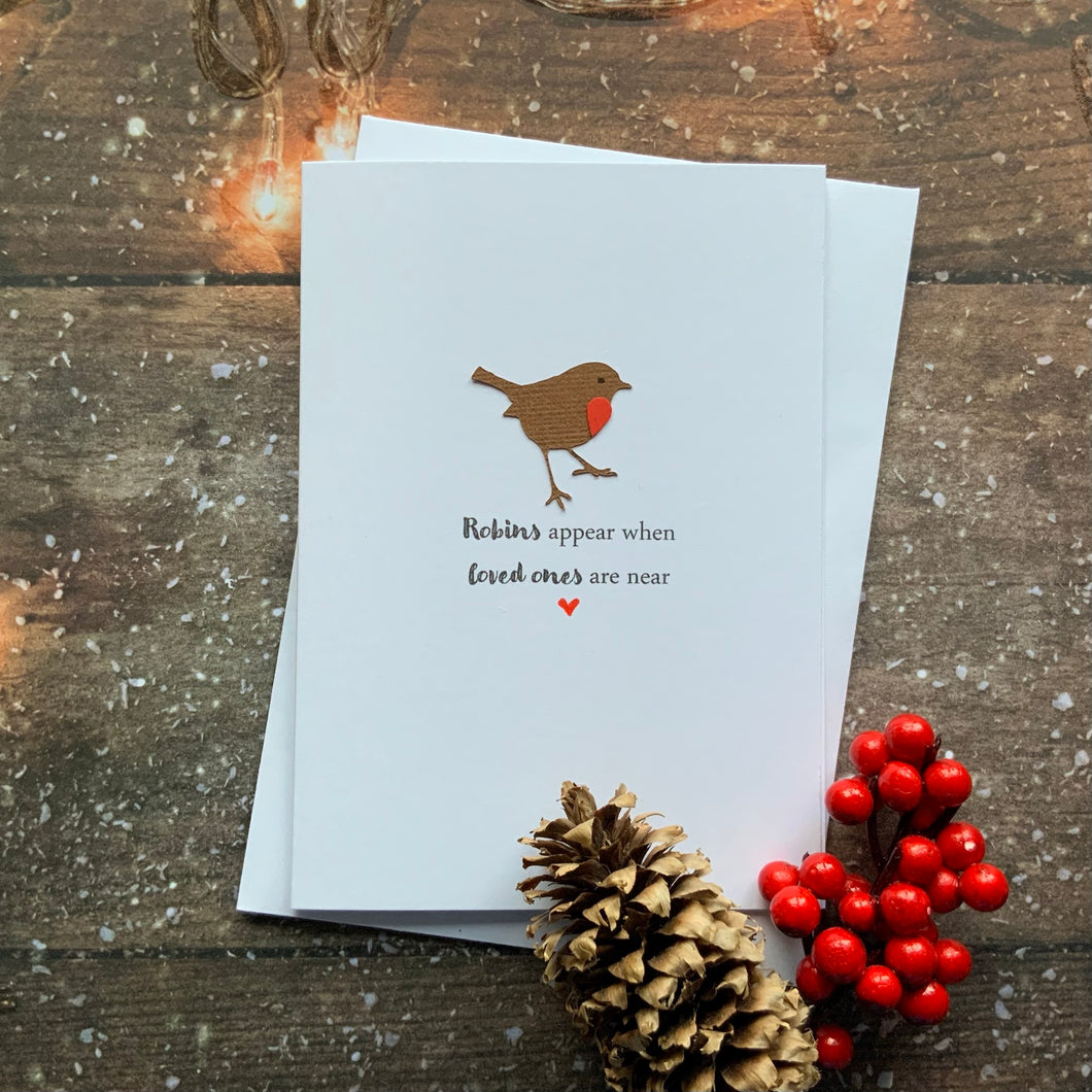 Robins Appear - Personalised