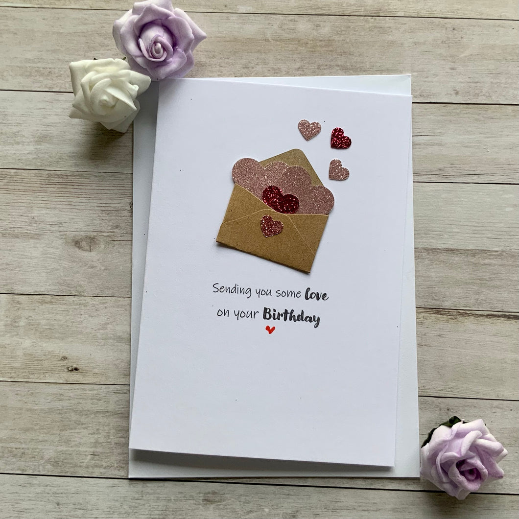 Sending You Some Love On Your Birthday - Personalised