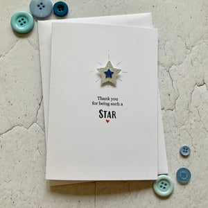 Thank You For Being Such A Star - Personalised