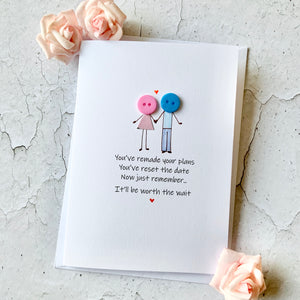 You've Remade Your Plans - Personalised Card