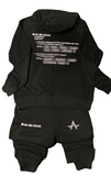 Definition of a Big Dog Hoody Set (black)