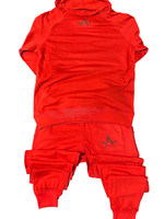 """The Brand"" Hoody Set (Red)"