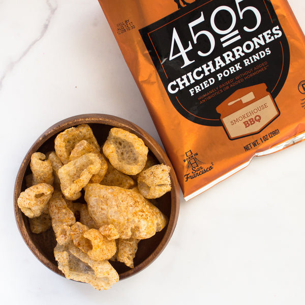Smokehouse BBQ Chicharrones (Paleo)