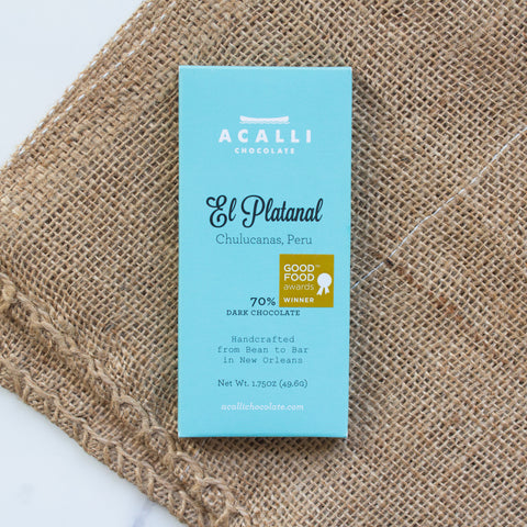 El Platanal 70% Dark Chocolate Bar