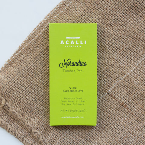 Norandino 70% Dark Chocolate Bar