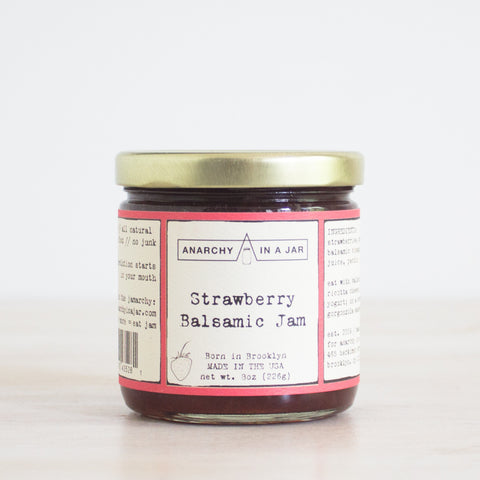 Strawberry Balsamic Jam