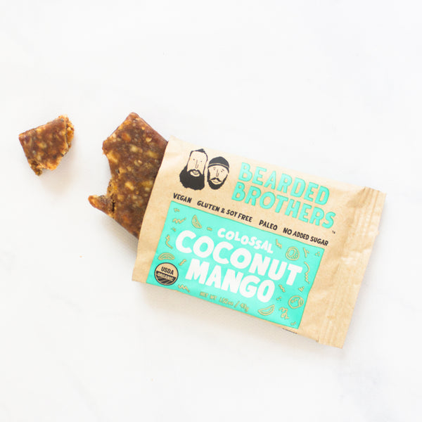 Colossal Coconut Mango Energy Bars
