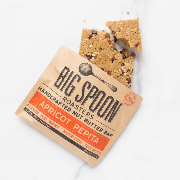 Apricot Pepita Nut Butter Bar