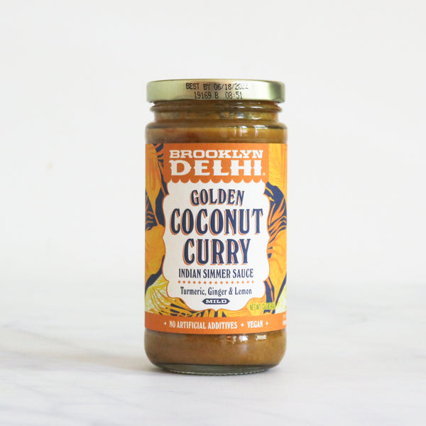 Golden Coconut Curry Indian Simmer Sauce