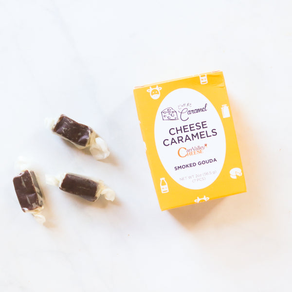 Smoked Gouda Cheese Caramels