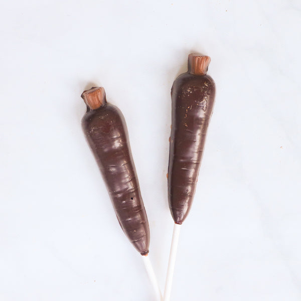 Chocolate Carrot Pops