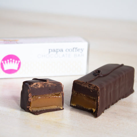 Coffee Caramel Candy Bar
