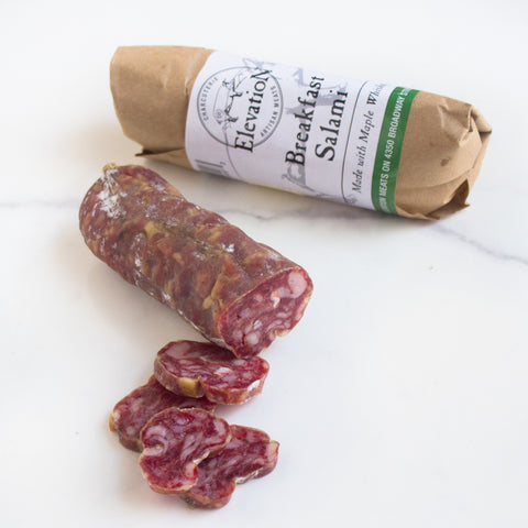 "Maple Whiskey ""Breakfast"" Salami"