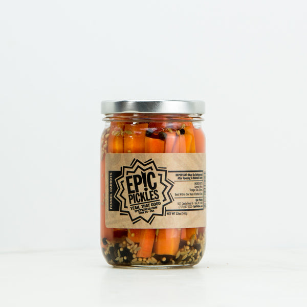 Fennel Carrots Pickles