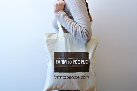 Farm To People Tote Bag (Free Gift!)