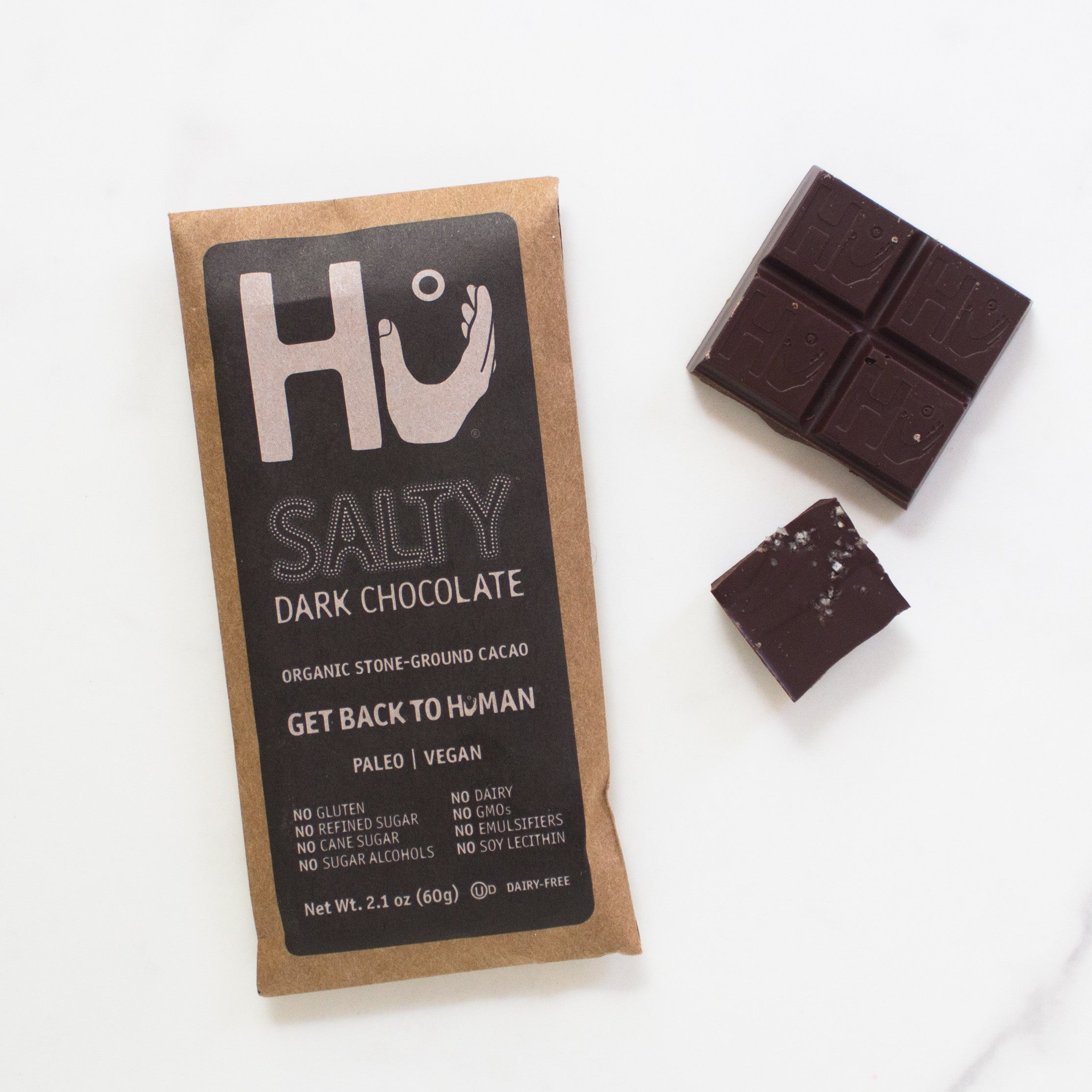 Salty Chocolate Bar By Hu Kitchen Farm To People Small Batch Artisanal Food And Gift Market