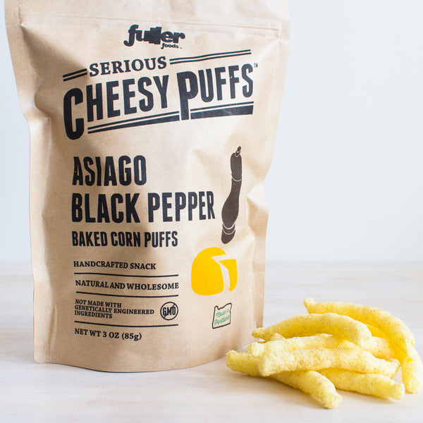 Asiago Black Pepper Cheese Puffs