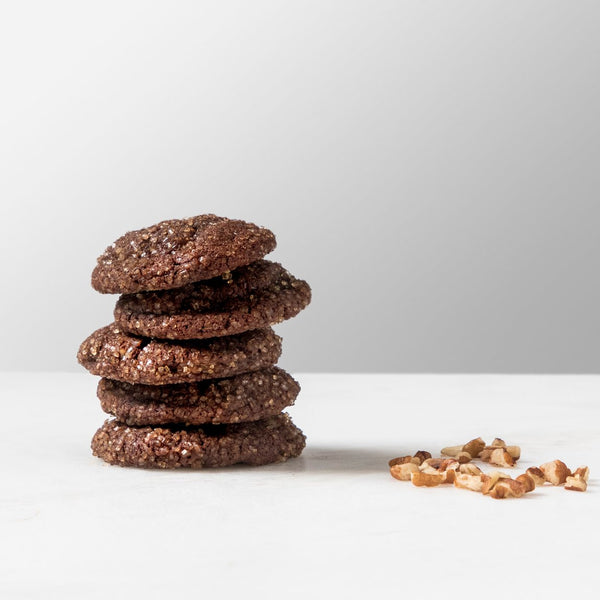 Chocolate Bourbon Cookies (Wholesale, 24-Pack)