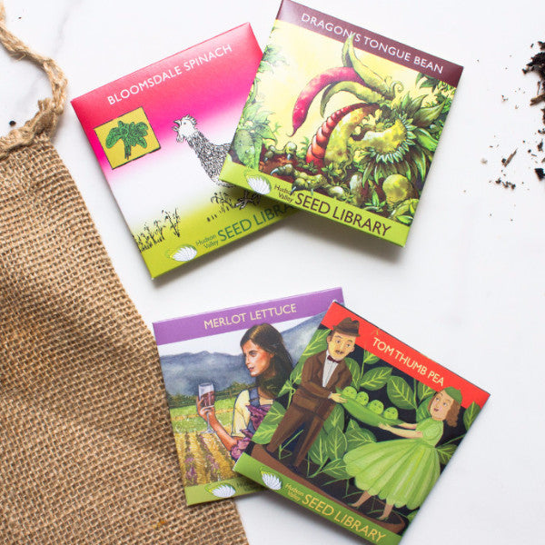 Organic Vegetable Seed Collection