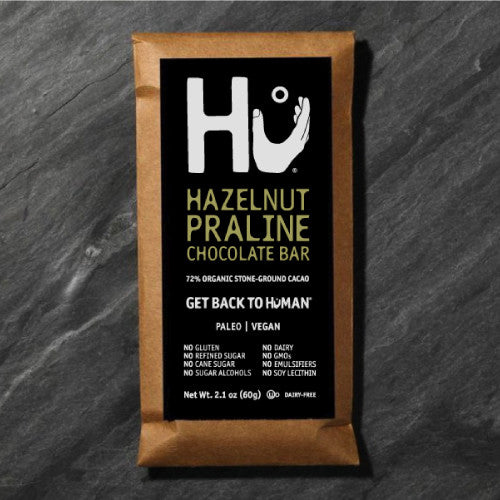 Hazelnut Praline Dark Chocolate Bar