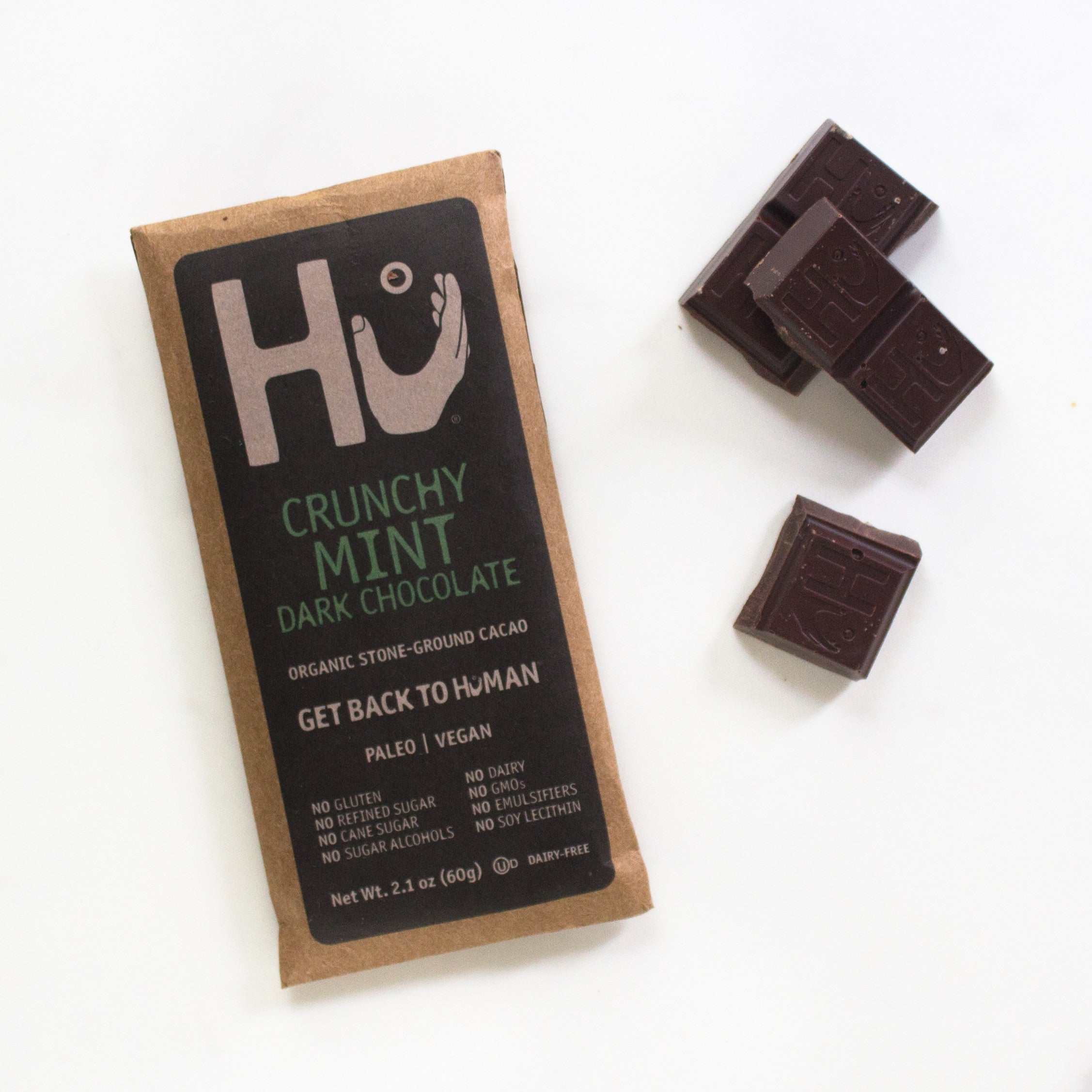 Crunchy Mint Bar by Hu Kitchen | Farm To People | Small-Batch ...