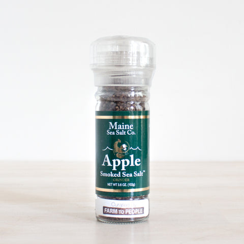 Applewood Smoked Maine Sea Salt