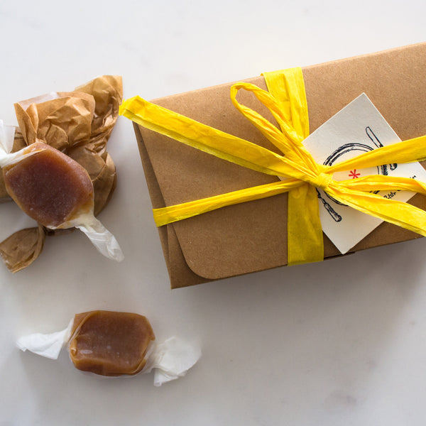 Bourbon Bacon Maple Caramels