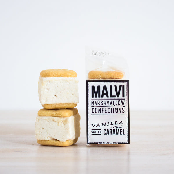 Salted Caramel Marshmallow Cookie