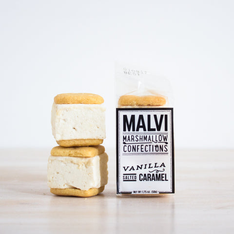 Salted Caramel Marshmallow Cookie S'more