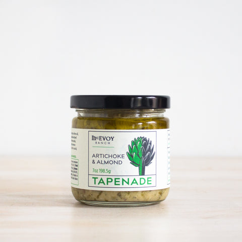 Artichoke and Almond Tapenade