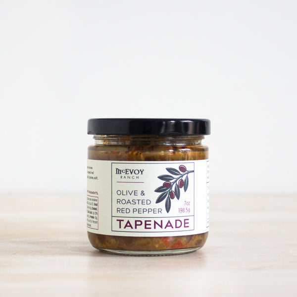 Olive & Roasted Red Pepper Tapenade