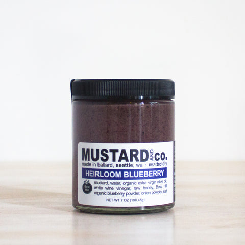Heirloom Blueberry Mustard