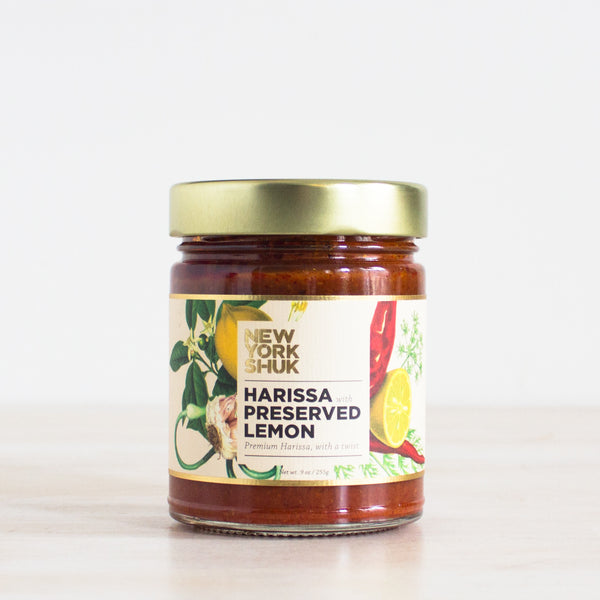 Harissa with Preserved Lemon