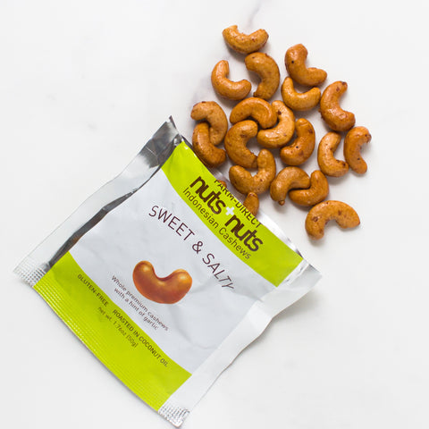 Sweet & Salty Roasted Cashews