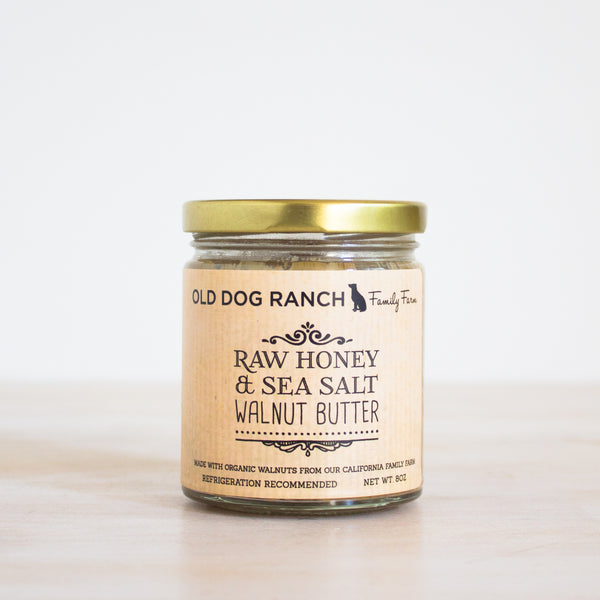 Raw Honey & Sea Salt Walnut Butter