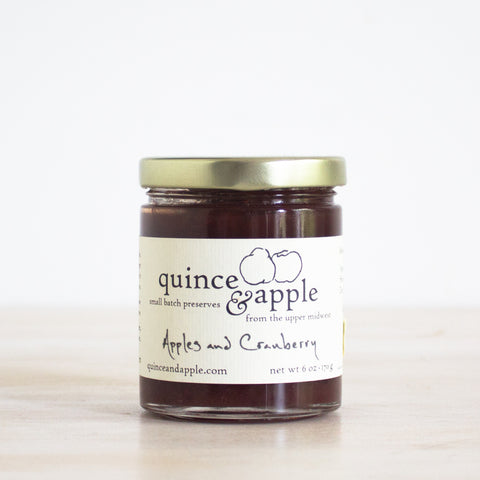 Apple Cranberry Jam