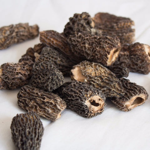 Dried Black Morels