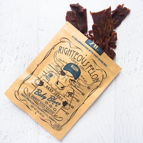 Baby Blues BBQ Jerky