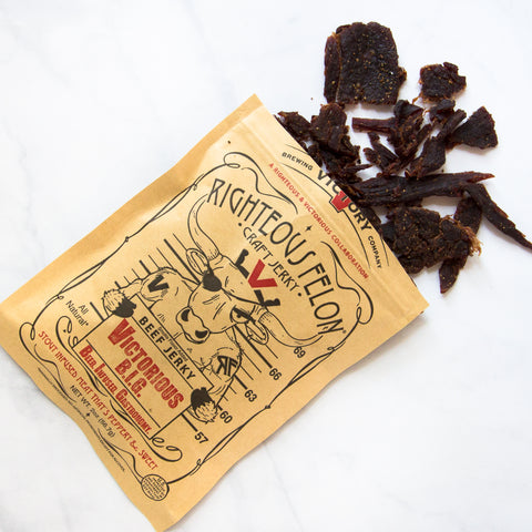 Beer Infused Jerky