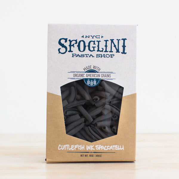 Cuttlefish Spaccatelli Pasta