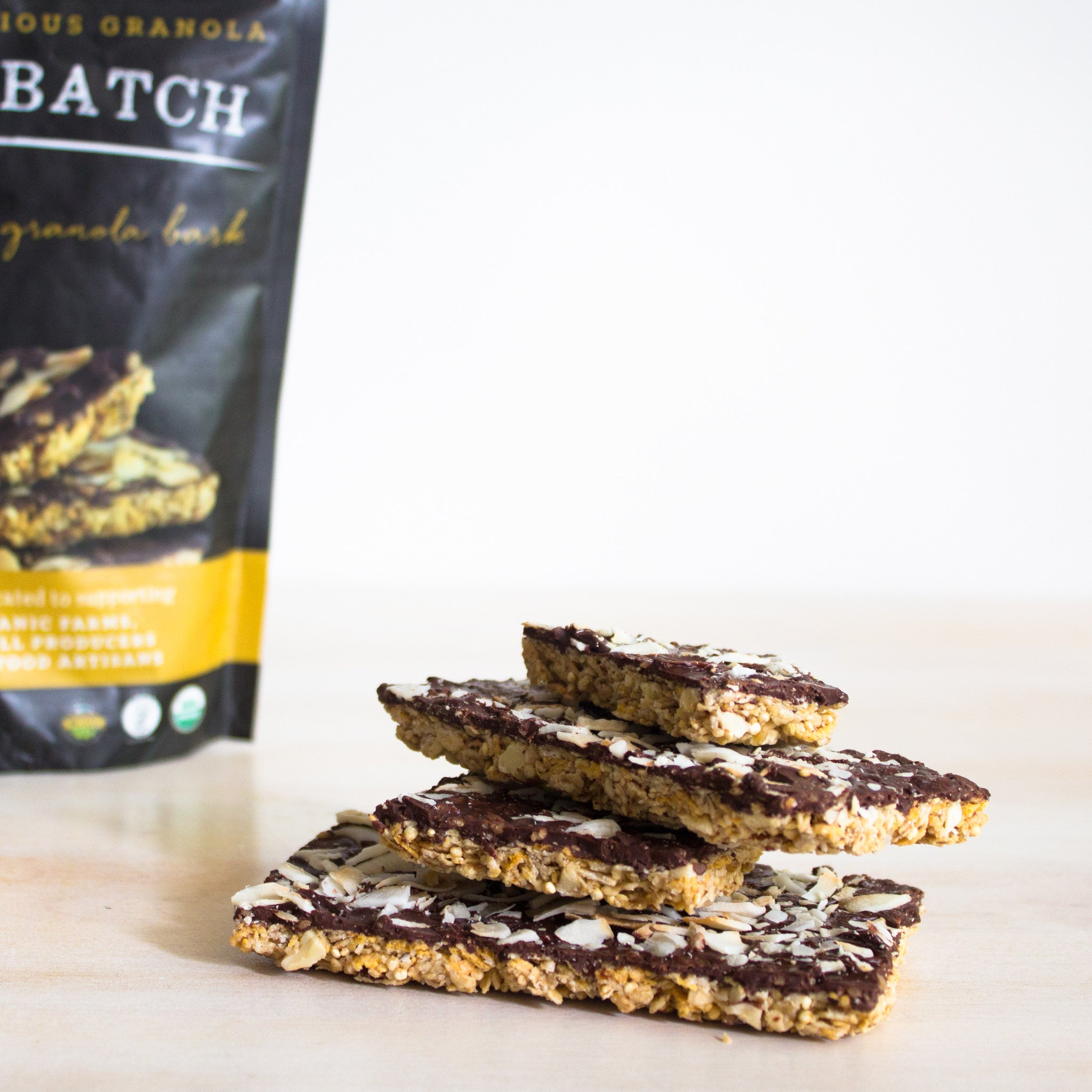 Coconut Toffee Granola Bark by Small Batch Organics | Farm To People ...
