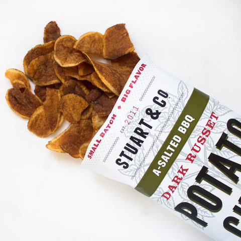 A-Salted BBQ Potato Chips
