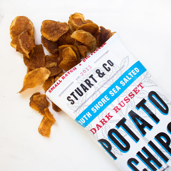 South Shore Sea Salt Potato Chips