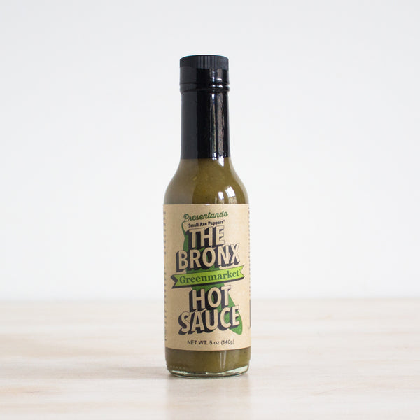 Bronx Greenmarket Green Hot Sauce