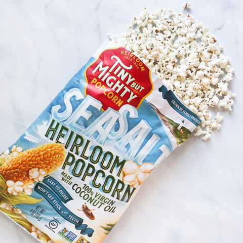 Sea Salt Heirloom Popcorn