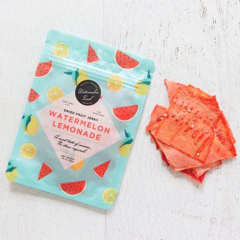 Watermelon Lemonade Dried Fruit Jerky