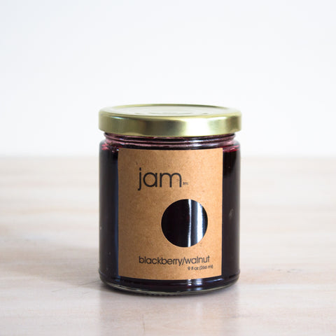 Blackberry Walnut Jam