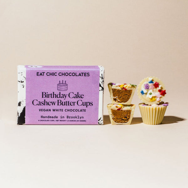 Birthday Cake Cashew Butter Cups